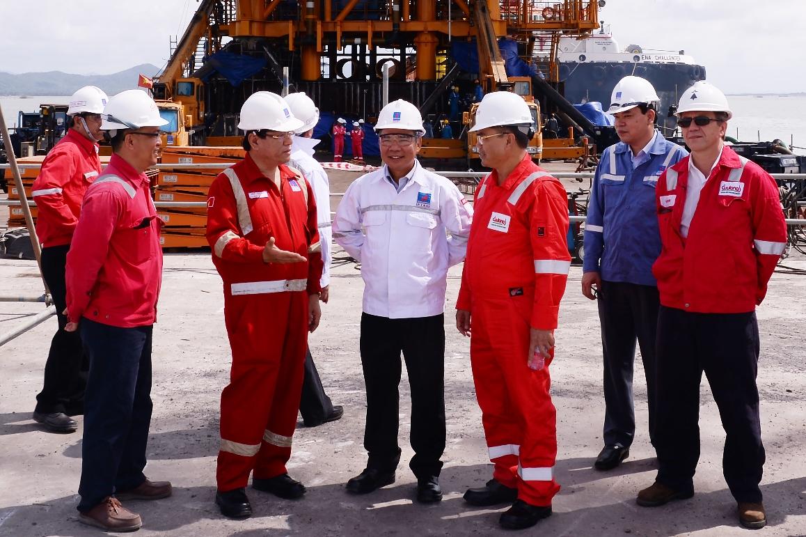 PVEP về đích trước 44 ngày kế hoạch sản lượng dầu khí năm 2017
